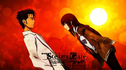 White Fox, Nitro+, Steins Gate, Rintarou Okabe, Kurisu Makise Wallpaper