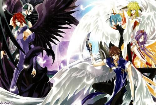 Sakura Asagi, Saint Beast, Gai (Saint Beast), Rei (Saint Beast), Shin (Saint Beast)