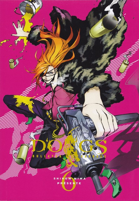 Miwa Shirow, Dogs: Bullets and Carnage, Badou Nails