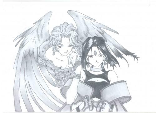Kousuke Fujishima, Ah! Megami-sama, Peorth, Member Art
