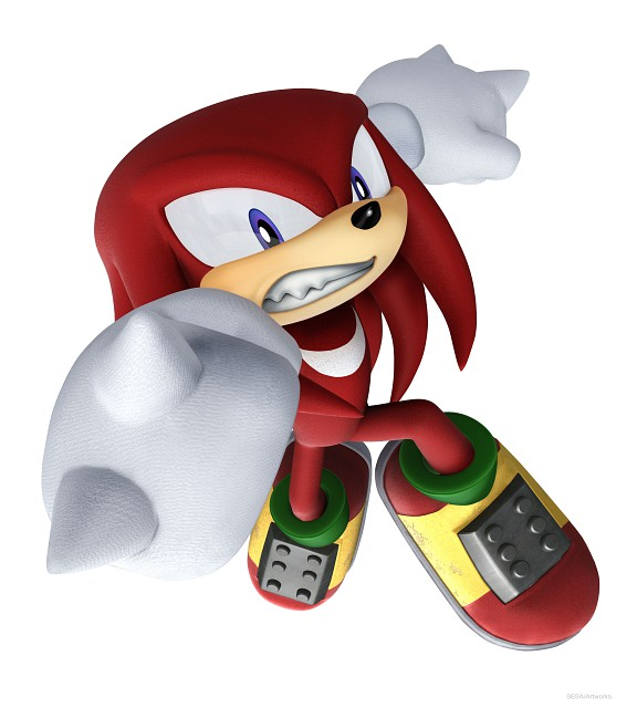 Sega, Sonic Series, Knuckles the Echidna, Official Digital Art