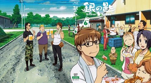 Hiromu Arakawa, Gin no Saji, Aki Mikage (Gin no Saji), Keiji Tokiwa, Shinosuke Aikawa