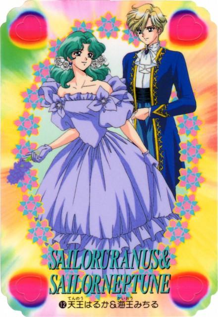 Toei Animation, Bishoujo Senshi Sailor Moon, Michiru Kaioh, Haruka Tenoh, Trading Cards