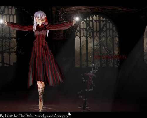 TYPE-MOON, Fate/Hollow ataraxia, Fate/stay night, Dark Sakura, Sakura Matou Wallpaper