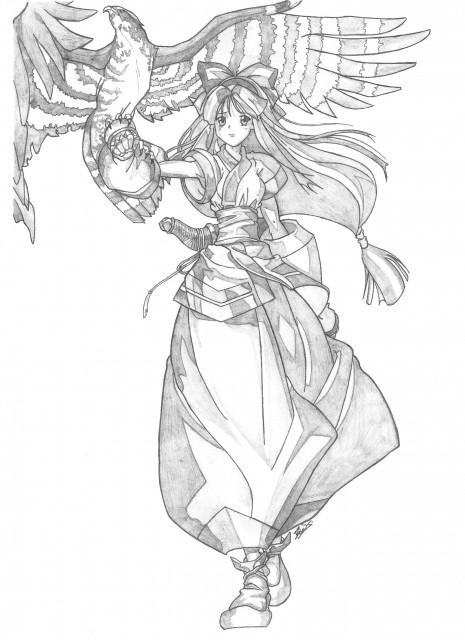 SNK, Samurai Spirits, Nakoruru, Member Art