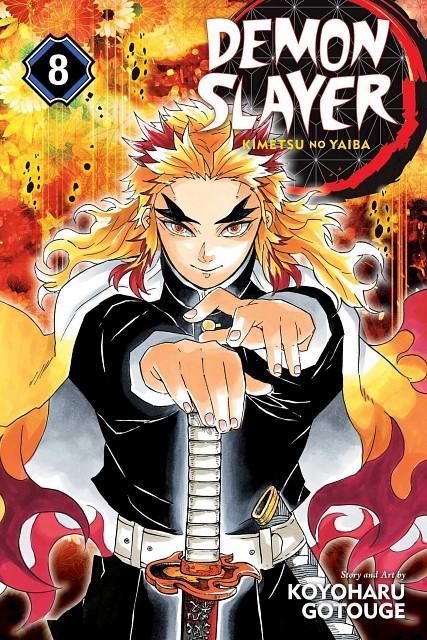 Koyoharu Gotouge, Kimetsu no Yaiba, Kyoujurou Rengoku, Manga Cover