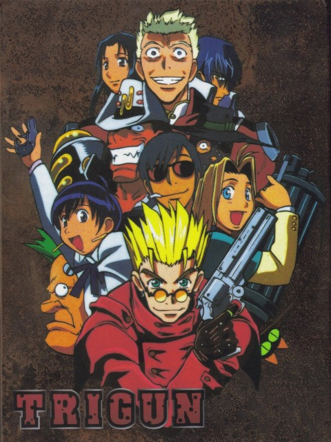 Madhouse, Trigun, Nicolas D. Wolfwood, Caine The Longshot, Legato Bluesummers