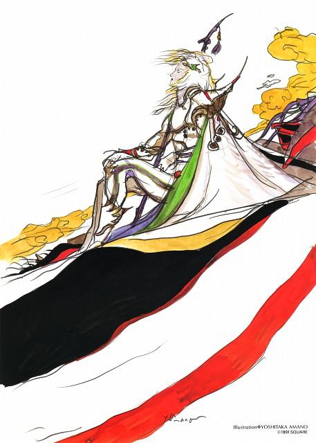 Yoshitaka Amano, Square Enix, Final Fantasy IV, Cecil Harvey