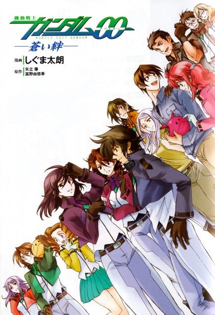 Mobile Suit Gundam 00, Anew Returner, Mileina Vashti, Allelujah Haptism, Soma Peries