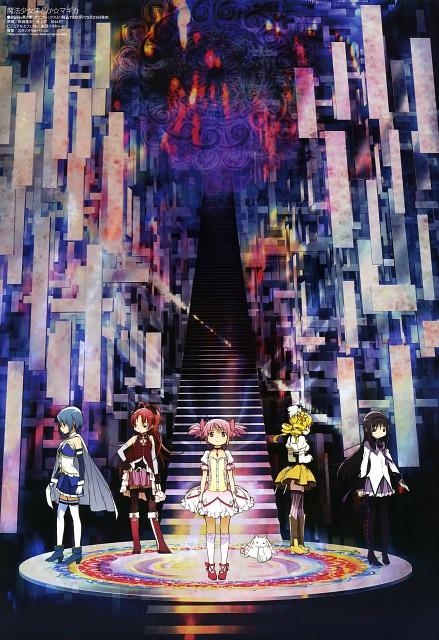 Ume Aoki, Shaft (Studio), Puella Magi Madoka Magica, Kyouko Sakura, Kyubey
