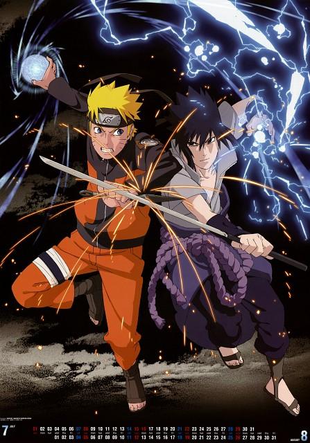Studio Pierrot, Naruto, Sasuke Uchiha, Naruto Uzumaki, Calendar