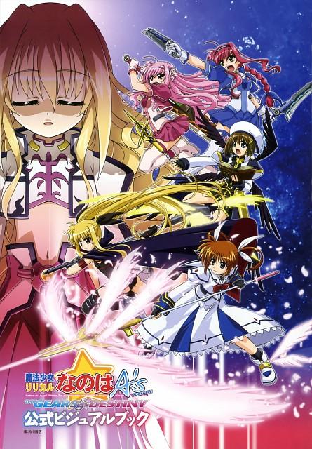 Seven Arcs, Mahou Shoujo Lyrical Nanoha, MSLN A's Portable - The Gears Of Destiny Official Visual Book, Kyrie Florian, Fate Testarossa