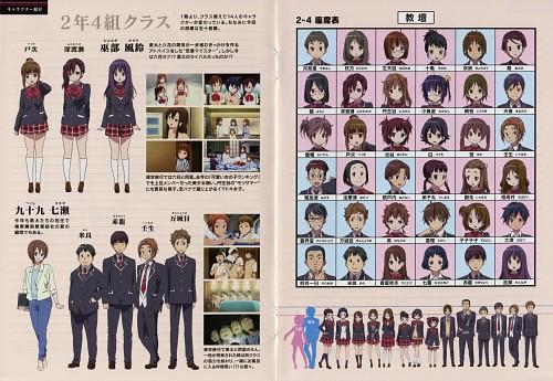 Nozomi Ousaka, Kyoto Animation, Chuunibyou demo Koi ga Shitai!, Rikka Takanashi, Shinka Nibutani