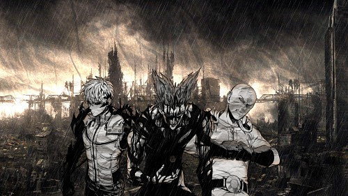 Yuusuke Murata, Madhouse, Onepunch-Man, Garou, Genos Wallpaper