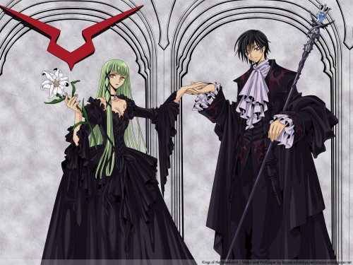 CLAMP, Lelouch of the Rebellion, Lelouch Lamperouge, C.C., Vector Art