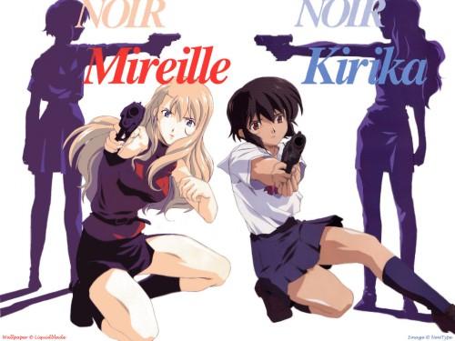 Noir, Mireille Bouquet, Kirika Yuumura Wallpaper