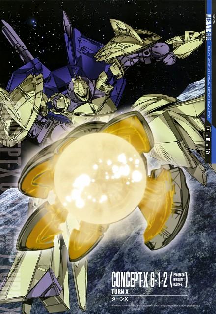 Atsushi Shigeta, Sunrise (Studio), Turn A Gundam, Gundam Perfect Files