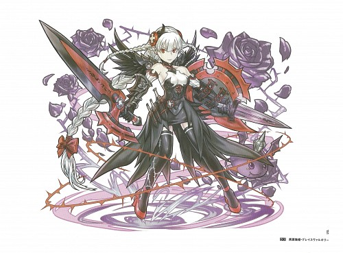 Puzzle & Dragons Illustrations, Puzzle and Dragons, Valkyrie (Puzzle and Dragons)