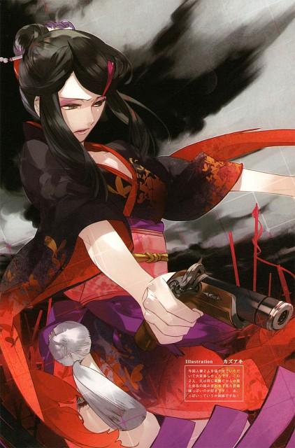 Kazuaki, Capcom, Sengoku Basara Dengeki Visual & Sound Book, Kazuaki Art Works, Sengoku Basara