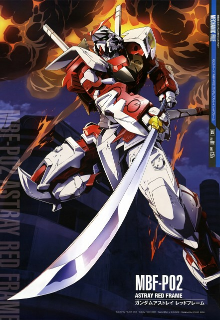 Sunrise (Studio), Mobile Suit Gundam SEED Astray, Gundam Perfect Files