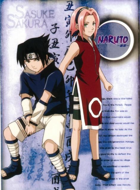 Studio Pierrot, Naruto, Sakura Haruno, Sasuke Uchiha