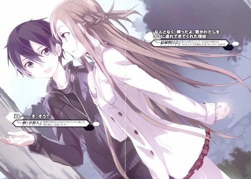 Abec, Sword Art Online, Kazuto Kirigaya, Asuna Yuuki