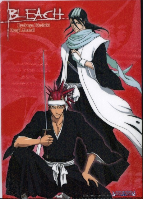 Studio Pierrot, Bleach, Renji Abarai, Byakuya Kuchiki, Pencil Board