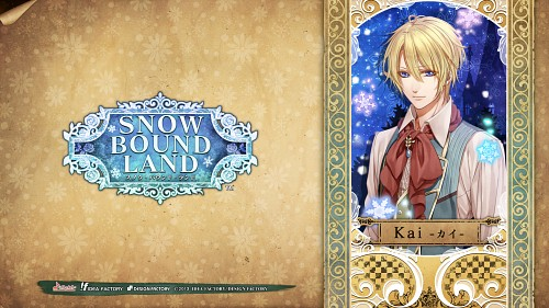 Aya Murasaki, Idea Factory, Snow Bound Land, Kai (Snow Bound Land), Official Wallpaper