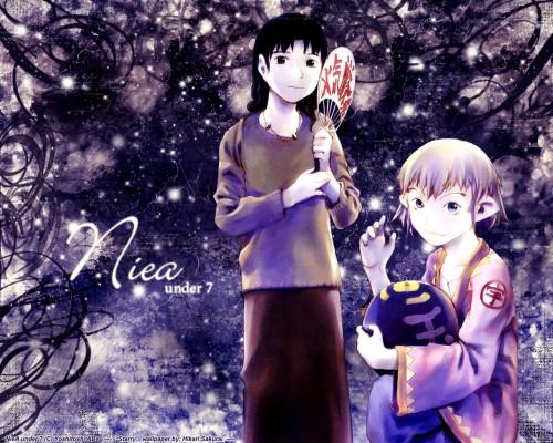 Yoshitoshi Abe, NieA_7, NieA_7 SCRAP, NieA (Character), Mayuko Chigasaki Wallpaper