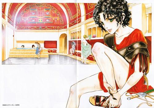 Yuho Ashibe, Crystal Dragon, Arianrhod (Crystal Dragon)