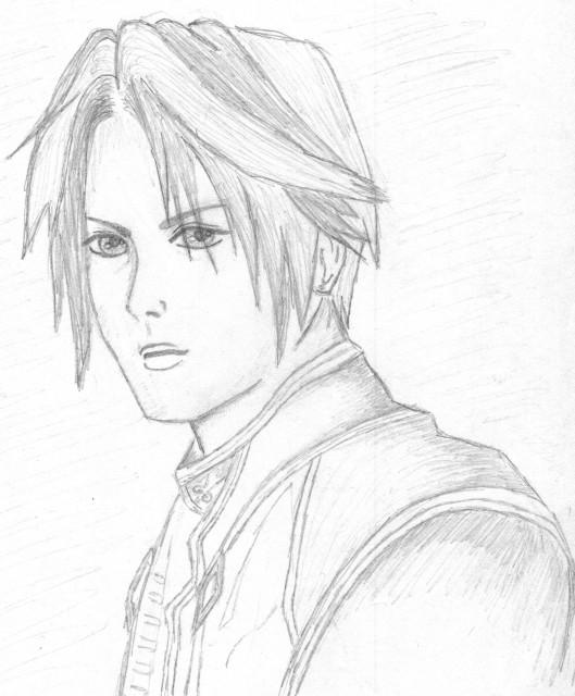 Square Enix, Final Fantasy VIII, Squall Leonhart, Member Art