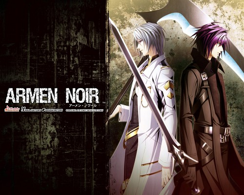 Ike (Mangaka), Idea Factory, Armen Noir, Sword (Character), Official Wallpaper