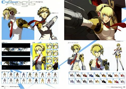Shigenori Soejima, Atlus, Shin Megami Tensei: Persona 3, Aegis, Character Sheet