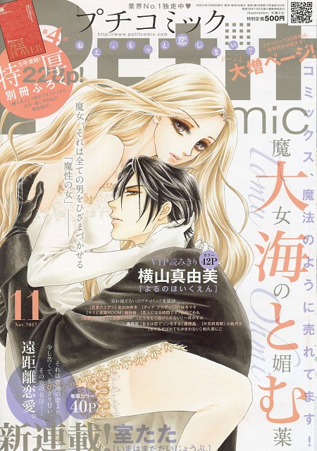 Tomu Ohmi, Majo no Biyaku, Kaoruko Mochizuki, Kaname Hibiki, Magazine Covers