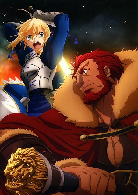 TYPE-MOON, Ufotable, Fate/Zero, Fate/Zero Animation Visual Guide II, Saber
