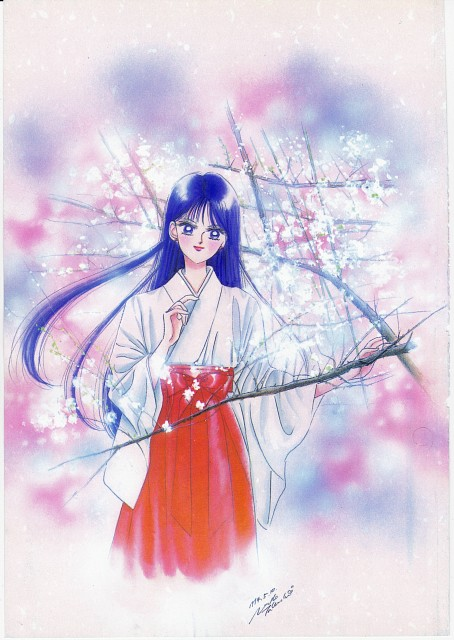 Naoko Takeuchi, Bishoujo Senshi Sailor Moon, BSSM Original Picture Collection Vol. I, Rei Hino