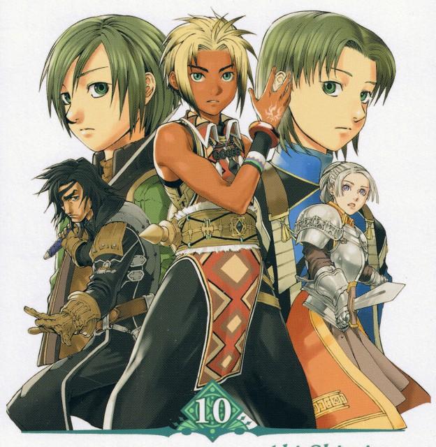 Aki Shimizu, Konami, Suikoden III, Geddoe, Chris Lightfellow