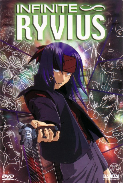 Hisashi Hirai, Sunrise (Studio), Infinite Ryvius, Airs Blue, DVD Cover