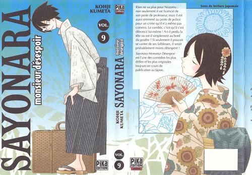 Kouji Kumeta, Sayonara Zetsubou Sensei, Kafuka Fuura, Nami Hitou, Nozomu Itoshiki
