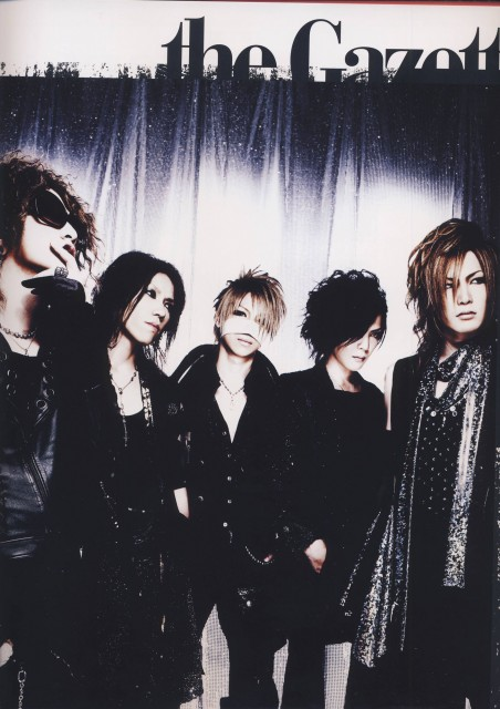 Ruki, Gazette, Aoi (J-Pop Idol), Reita, Kai