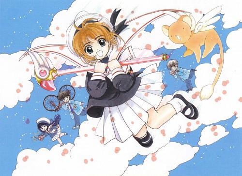 CLAMP, Cardcaptor Sakura, Tomoyo Daidouji, Sakura Kinomoto, Keroberos