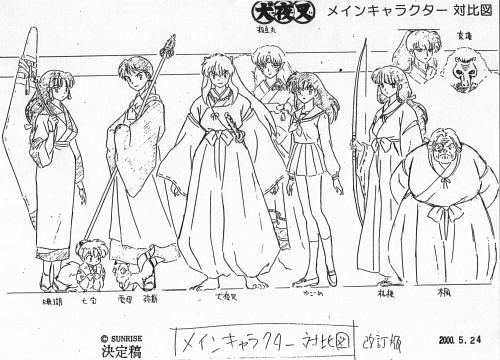 Rumiko Takahashi, Sunrise (Studio), Inuyasha, Inuyasha (Character), Kaede (Inuyasha)