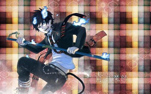Kazue Katou, A-1 Pictures, Ao no Exorcist, Rin Okumura Wallpaper