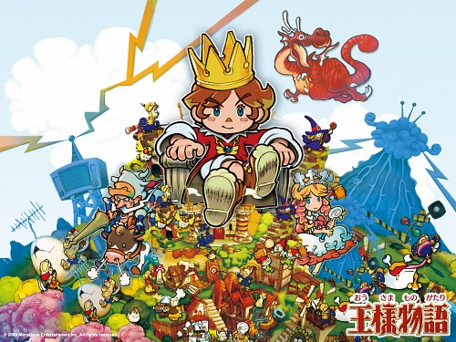 Marvelous Entertainment, Cing , Little King's Story , Official Wallpaper