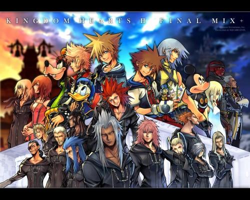 Square Enix, Kingdom Hearts, Xemnas, Lexaeus, Xaldin