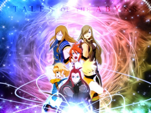 Kousuke Fujishima, Tales of the Abyss, Tear Grants, Guy Cecil, Asch Wallpaper