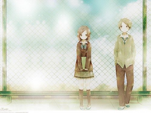 Maccha Hazuki, Isshuukan Friends, Yuuki Hase, Kaori Wallpaper