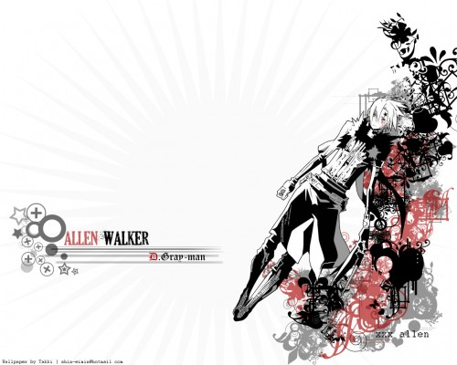 Katsura Hoshino, TMS Entertainment, D Gray-Man, Crown Clown, Allen Walker Wallpaper