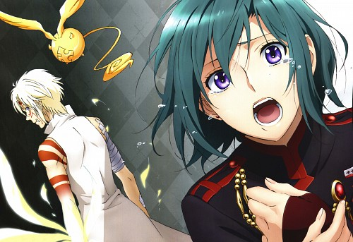 D Gray-Man, Allen Walker, Lenalee Lee