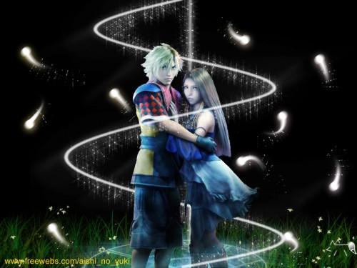Square Enix, Final Fantasy X-2, Shuyin, Lenne Wallpaper